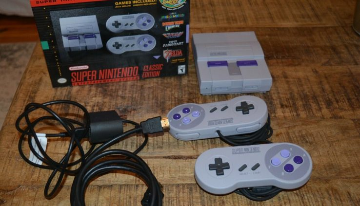 Large Nintendo Leisure Blueprint SNES Mini Classic Version