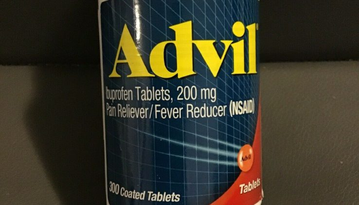 Advil Ibuprofen 200mg Lined Capsules – 300 Lined Capsules