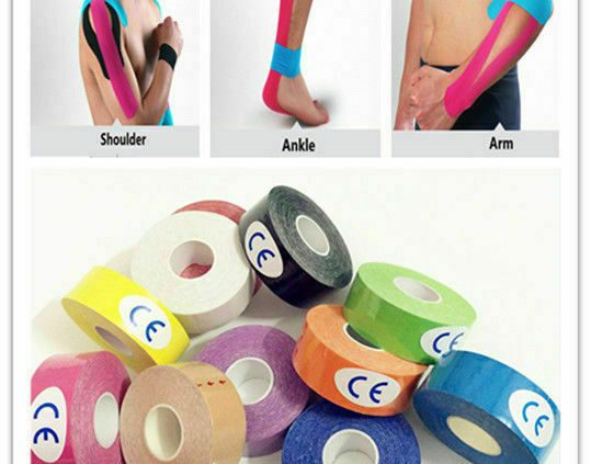 Kinesiology Waterproof Sports actions Tape   ElasticTherapeutic Healty Care Physio GYM