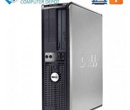 Instant Dell Desktop Computer PC Intel 2.13GHz 4GB 160GB HD DVD Wifi Home windows 10