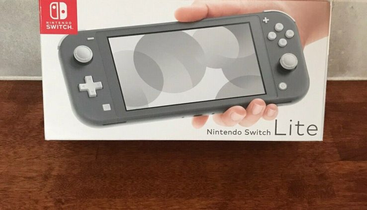 Nintendo Swap Lite – Gray Brand New Free Shipping