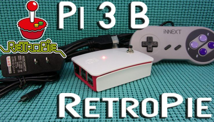 RetroPie Raspberry Pi 3 B WIFI 4,000 GAMES with HDMI, CASE & Energy Offer