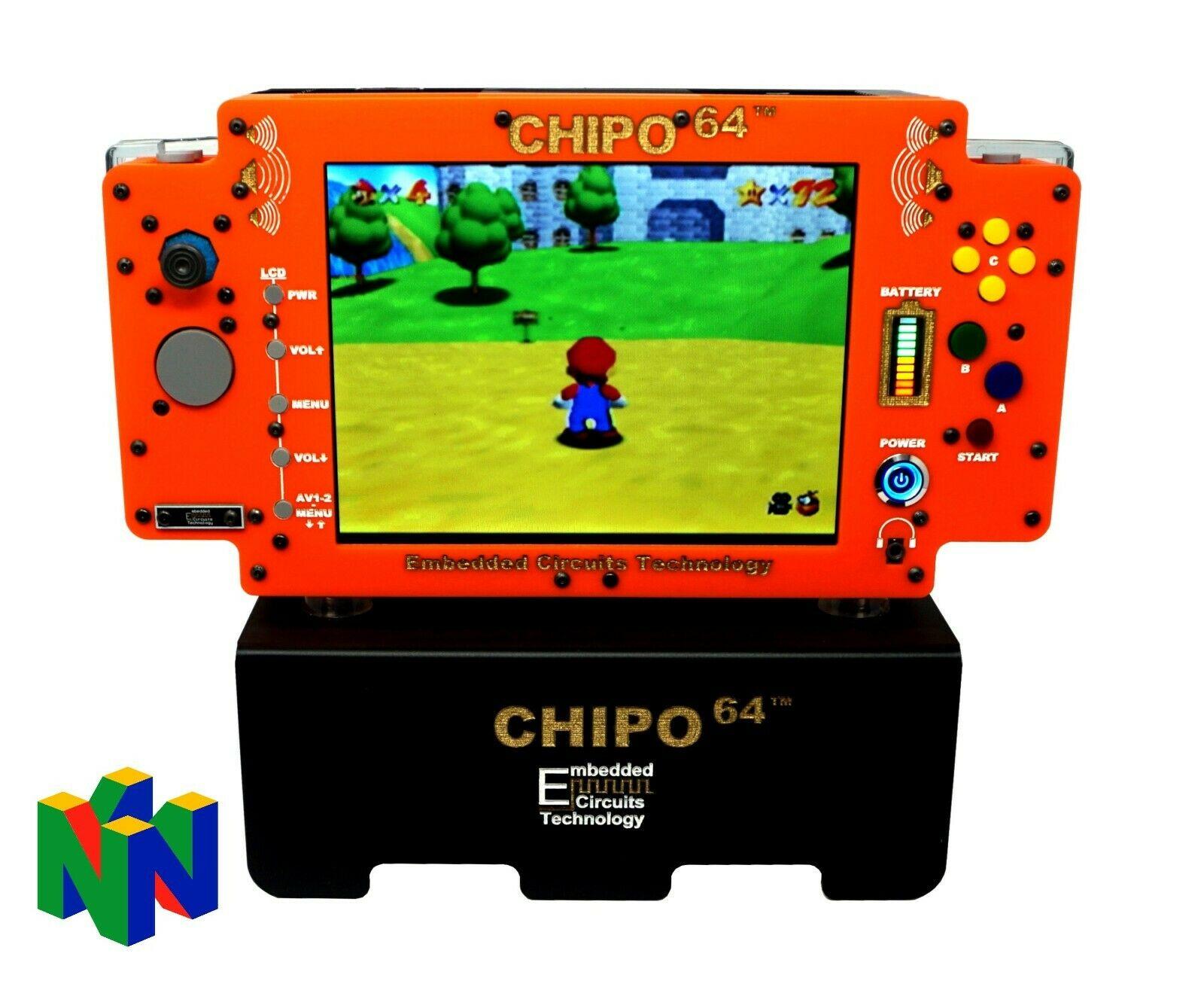 N64 Nintendo 64 Console PORTABLE System Games Retro gaming