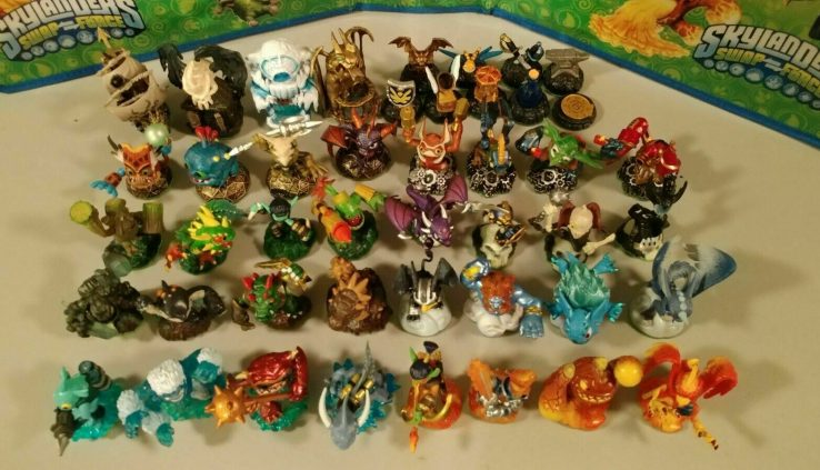 Skylanders SPYRO'S ADVENTURE figures Care for 4 come by 1 Free! FREE SHIP! *$6 Minimal*🎼