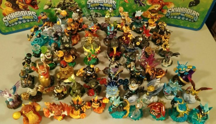 Skylanders SWAP FORCE COMPLETE YOUR COLLECTION Elevate 4 fetch 1 Free! *$6 Minimal*🎼