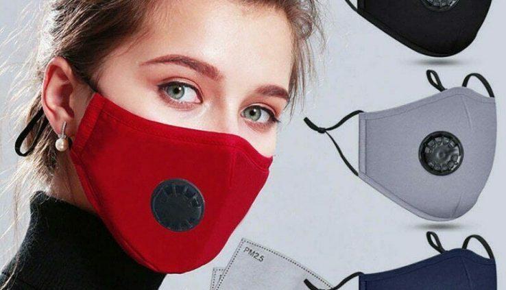 Conceal mascherare enmascarar maska Maske PM2.5 with 02 filters