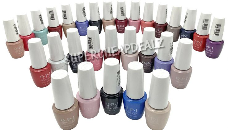 OPI GelColor Soak-Off Gel Polish 0.25 oz / 7.5ml MINI – ANY COLOR NEW AUTHENTIC