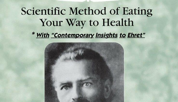 Professor Arnold Ehret's Mucusless Weight loss program Healing System Label Recent Paperback WB319