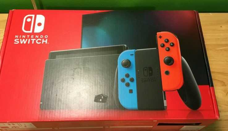 NEW NINTENDO SWITCH GAME CONSOLE (UPDATED VERSION)