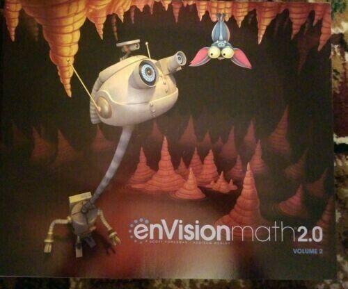 Envision Math 2.0 Usual Core Student Ed. Grade 2 Volume 2 Pearson Workbook