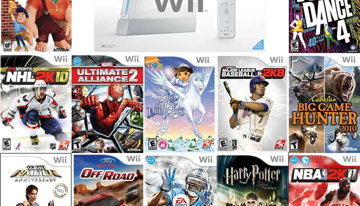 Nintendo Wii Games | Very Lawful Condition | Accumulate Video Game | FREE SHIPPING