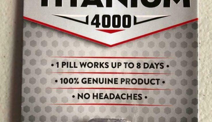 Titanium 4000 Male sexual enhancement – all pure supplement – 1 tablet