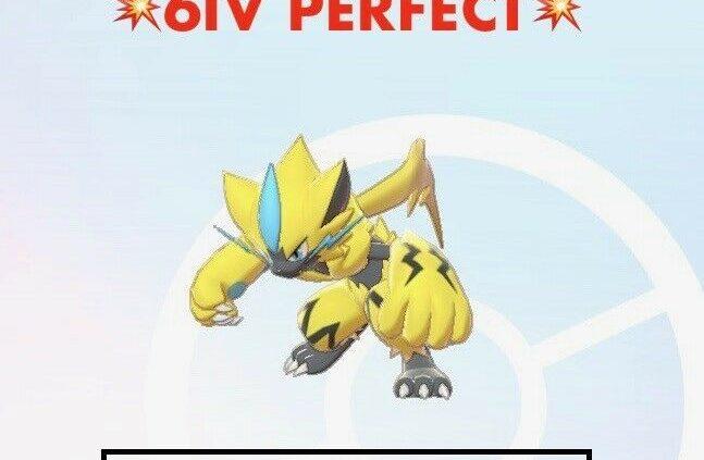 -Pokemon Sword and Defend- 💥Correct 6IV💥 Zeraora FAST DELIVERY