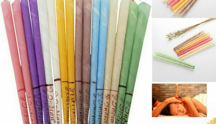 10x Ear Wax Cleaner Elimination Coning Fragrance Candles Healthy Gap Cleansing Dwelling