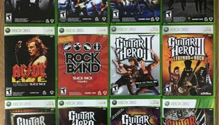 Rock Band / Guitar Hero (Microsoft Xbox 360) Cleaned and ...