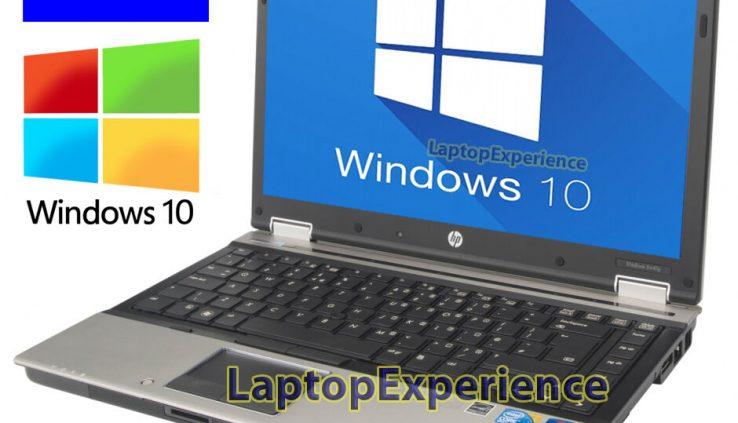 HP LAPTOP WINDOWS 10 PC CORE i5 2.4GHz 4GB RAM WiFi DVDRW NOTEBOOK 250GB HD WIN