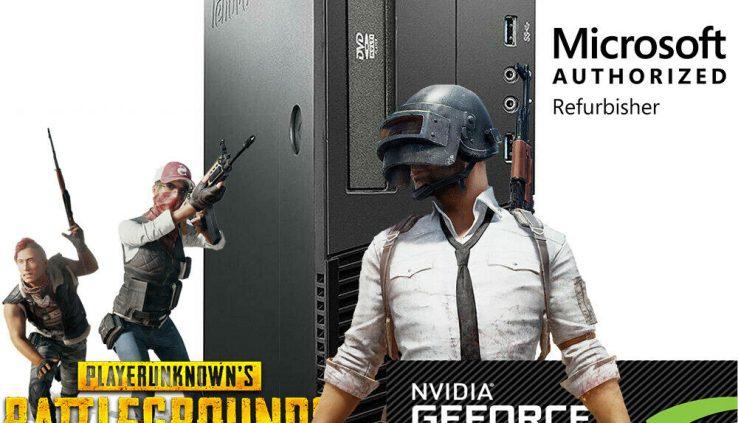Gaming Desktop PC 500GB Nvidia GT 1030 HDMI 3.2Ghz 16GB RAM WiFi Prefer 10 Computer