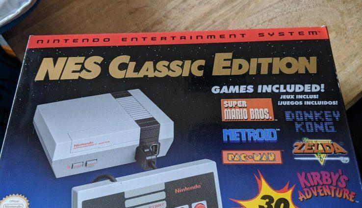 Nintendo NES Classic Edition Mini – 100% Legitimate  + 8bitdo wi-fi controller