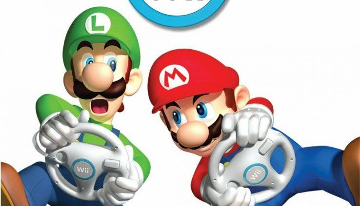 Mario Kart Wii Complete in usual case w/ handbook Mountainous Form – Nintendo Wii