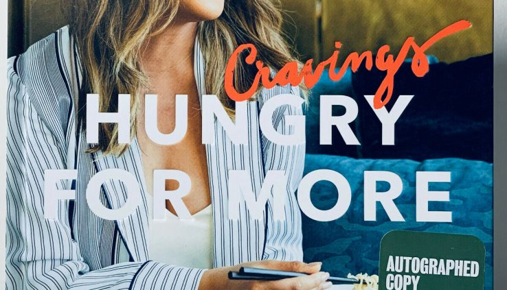Cravings Hungry For Extra by Chrissy Teigen, Signed & Doodled. 1st/1st. Value New