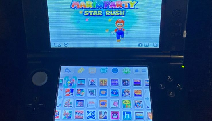 Nintendo 3ds XL Blue 170 Games Installed 3DS + SNES + GBA + GBC + GB