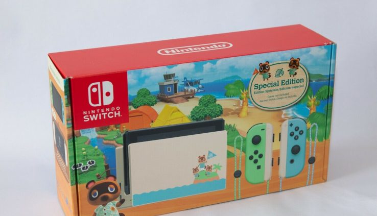 Nintendo Swap Animal Crossing Particular Edition Console Tablet ONLY
