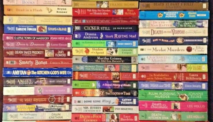 Cozy Thriller Lot of 10 ~ MIXED LOT / UNSORTED ~ standard authors ~ FREE SHIPPING!